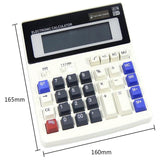 Etmakit  Big Buttons Office Calculator Large Computer Keys Muti-function Computer Battery Calculator