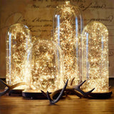 FENGRISE LED Star String Light Romantic Wedding Decoration Valentine Decor Happy Birthday Party Gift Bachelorette Party Favors