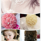 Fashion Multicolor 5 Meters Beige Fishing Line Pearls Beads Chain Garland Flowers Wedding Party Decoration Bead Chain 17 Colors