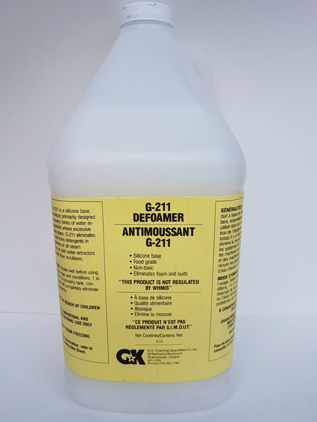 G-211 Defoamer 4x4L CURBSIDE PICK UP AVAILABLE