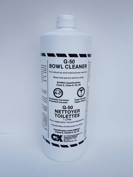 G-50 Bowl Cleaner 1L CURBSIDE PICK UP AVAILABLE