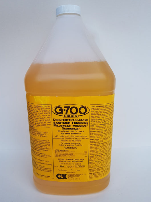 G-700 Germicidal Detergents and Disinfectants 4L