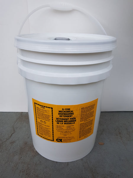 G-1200 liquid Mechanical Dishwashing Detergent 20L pail CURBSIDE PICK UP AVAILABLE