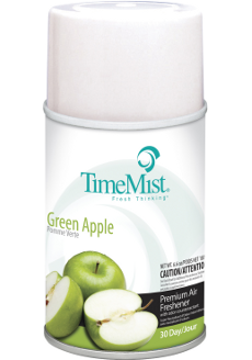 Premium Metered 30 Day Air Freshener 150gx12- Green Apple