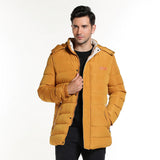 HEE GRAND 2018 New Winter Hooded Parka Men's Thick Cotton Casual Clothes 4 Colors M~3XL MWM1788
