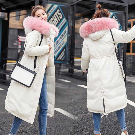HEE GRAND Winter Coats Plus Size 2018 Autumn Jackets Women Windproof Outwears Thick X-Long Cotton Parkas Casaco Feminino WWM1687