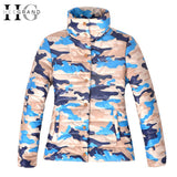 HEE GRAND Winter Jacket Women Basic Coat Women Slim Jacket Cool Camouflage Coat Outwear Manteau Femme Size S-XL WWM932