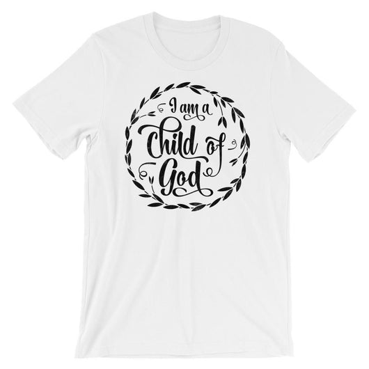 401136755 I am a child of god t-shirt Christian women fashion funny slogan tees summer