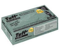 OUT OF STOCK-Tuff Nitrile Disposable Black Glove 6 Mill Heavy Duty  100 per Box.