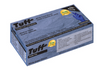 TUFF COBALT BLUE DISPOSABLE NITRILE PF GLOVES, MEDICAL GRADE (100 gloves per box) INF15I-700PF-CB