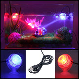 Indoor LED Underwater Lamp Waterproof LED Aquarium Light for Coral Reef Fish Tank Submersible Aquarium Light Spot Lamp