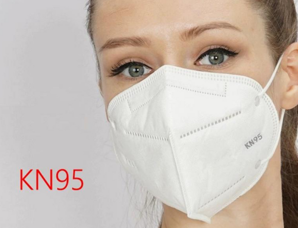 KN95 5 Layers Mask Bacteria Proof Anti Infection KN95 Masks Particulate Mouth Respirator