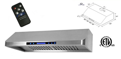 Range Hood LOTUS BRAND - LTS-R01-30 Delivery Free