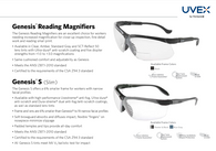 MAGNIFIER BI-FOCAL, 2.0  CLEAR LENS PAIR