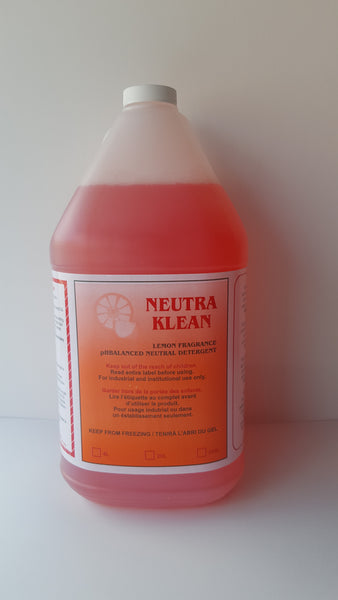 Neutra Kleen Lemon Neutral Detergent 4L CURBSIDE PICK UP AVAILABLE