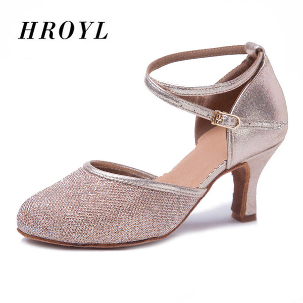 New Type Ballroom/Latin/Modern Dance Shoes/Closed Toe Women's Sandals Dancing Shoes/Ladies Salsa Shoes In Disount Hot Salse