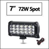 "Oslamp 4"" 7"" 12"" 20"" 23"" 28"" 31"" 44"" 3-Row LED Light Bar Offroad Combo Led Work Light Bar 12v 24v Truck SUV ATV 4WD 4x4 Led Bar"