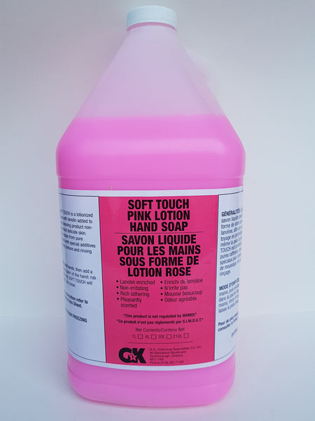 Pink Lotion Hand Soap 4x4L