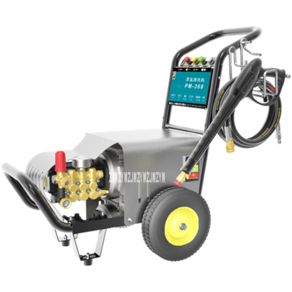 PM-368 Automatic High Pressure Car Wash Shop Cleaning Machine 2.4KW Commercial High Power Professional Car Washing Machine 220V