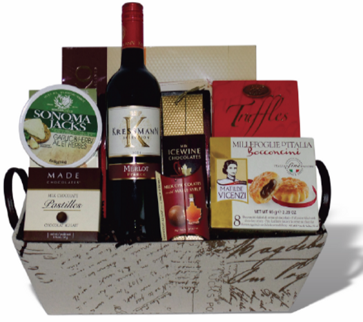 Party Time Gift Basket