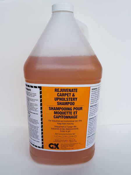 Rejuvenate Upholstry and Carpet Cleaner 4x4L