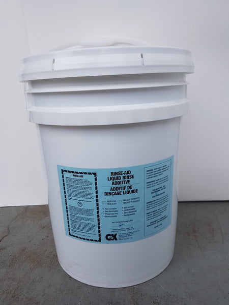 Rinse Aid Liquid Rinse 20L pail CURBSIDE PICK UP AVAILABLE