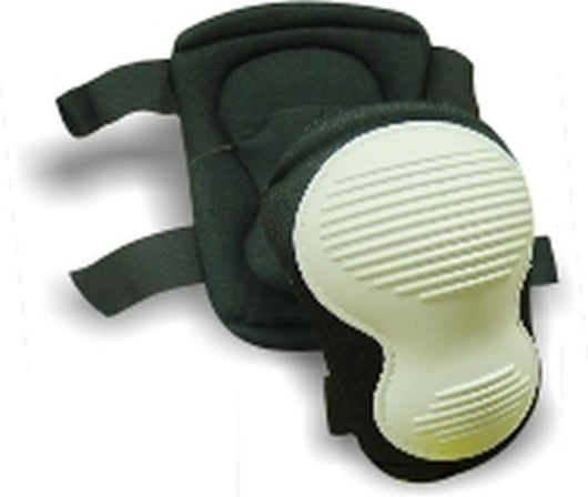 Deluxe Black Nylon Knee Pad with PE White Cup