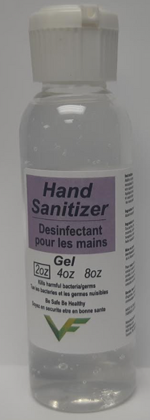 Hand Sanitizer Lavender 70% Desinfectant 4Litter, 1Litter and 2Oz CURBSIDE PICK UP AVAILABLE