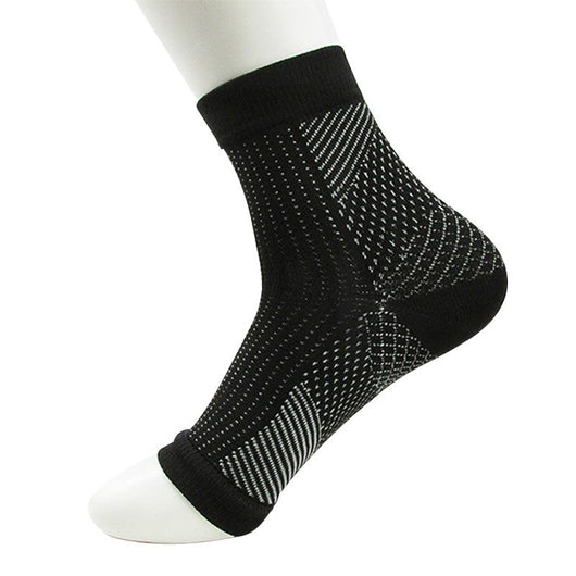 Women Ankle Heels Support Men Compression Foot Angel Sleeve Heel Arch Support Pain Relief Men Male socks 2018 Hot DropShipping