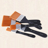 Wooden Acrylic Paint Brushes Nylon Oil Painting Brush Art Supplies Easy To Clean Art Paint Brushes Watercolor Oil Tool