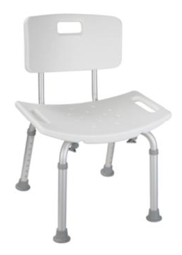 Bath Seat with Small Back