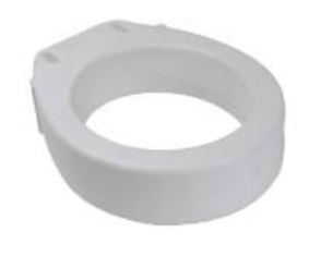 Raised Toilet Seat - Round