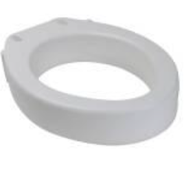 Raised Toilet Seat - Oval