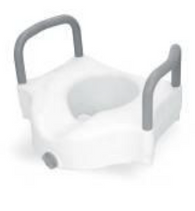 3-Way Raised Toilet Seat with Arms