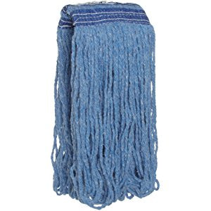 Blue Synthetic Mop Heads (12 pieces)