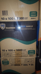 Blue Shield Nitrile Powder Free Glove 5 Mil High Grade Medical 100/Box