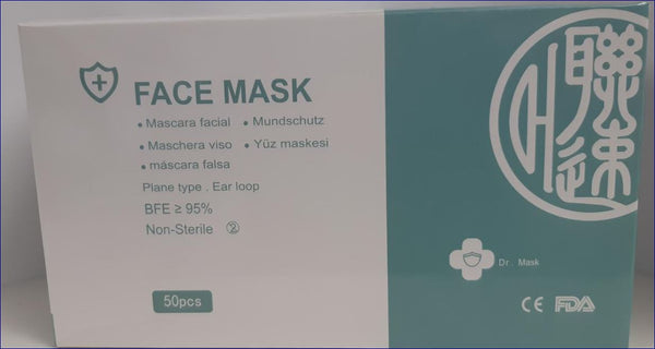 Face mask 3ply 95% BFE, Medical 50mask CURBSIDE PICK UP AVAILABLE
