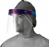 Disposable Face Shield with Foam Top and Elastic Band