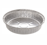 "Silver Aluminum Foil 9"" Take Out Container 500 pieces CURBSIDE PICK UP AVAILABLE"