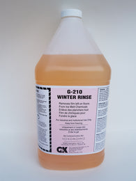 Copy of G-210 Winter Rinse 4L