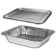 Half Size Deep and Medium  Foil Steam Table Pans/Trays 100/Cs