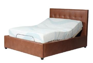 Adjustable Bed Headboard and Frame- Queen