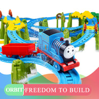 hot wheels Thomas Electric Track Train Set multi-layer sound light children early education toys kids birthday Christmas gifts