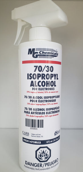 70/30 Isopropyl Alcohol, Spray Bottle 475 ml (16 oz)