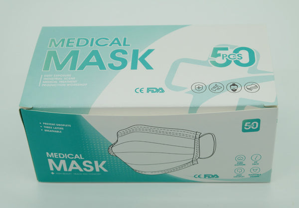 HXL Disposalbe Medical Mask Medical Level 2 3 ply face mask 50/Box