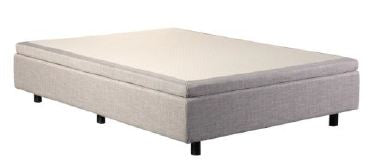 Adjustable Bed Base Luxury Model in Beige
