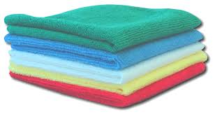 Microfiber Cloths 16x16 (10 pieces)