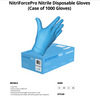Nitrile Gloves powder free 100/box 4 mill nonmedical sold by case CURBSIDE PICK UP AVAILABLE