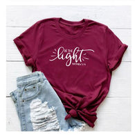 BE THE LIGHT matthew Christian T-Shirt Faith Graphic  Slogan Religious Jesus christian shirt Vintage quote bible Verse tops