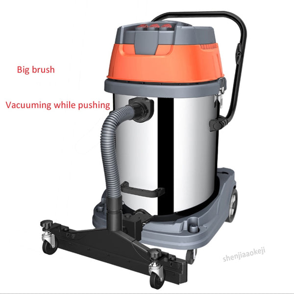 3500W wet & dry dual-purpose vacuum cleaner multi-filter industrial dust collector commercial high-power dust collector  220V